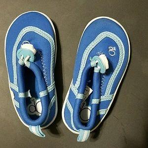 OP Baby Blue Aquatic Shoes